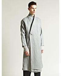 Damir Doma | Gray Mens Kimono Sleeve Coat for Men | Lyst