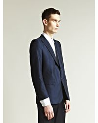 Dries Van Noten | Blue Mens Brexton Jacket for Men | Lyst