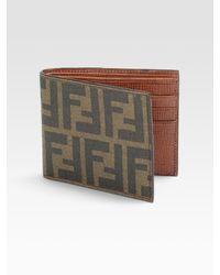 Fendi   Gray Basic Wallet for Men   Lyst