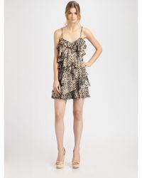 Rachel Zoe   Multicolor Kylie Asymmetrical Ruffle Dress   Lyst