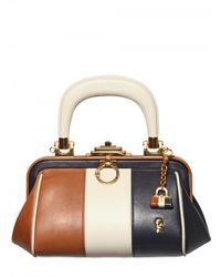 Roberta Di Camerino | Brown Bagonghi Leather Doctor Top Handle | Lyst