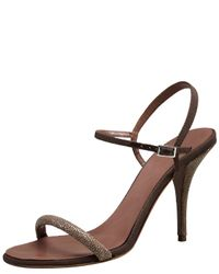 Tabitha Simmons | Brown Deon Stingray & Grosgrain Sandal | Lyst