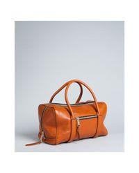 Chloé | Brown Nutmeg Lambskin Madeleine Bowler Bag | Lyst
