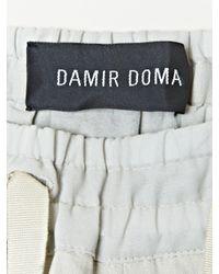 Damir Doma - Natural Mens Paros Drop Crotch Trousers for Men - Lyst