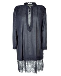 Day Birger et Mikkelsen | Gray Shadow Grey Elisabeth Tunic Dress | Lyst