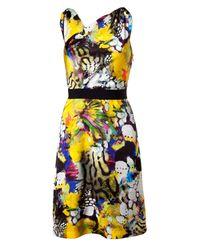 Emanuel Ungaro   Multicolor Knee-length Dress   Lyst