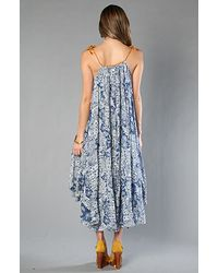 Free People - Blue The Moroccan Bandana Dress - Lyst