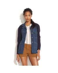 Madewell - Blue Rivet & Thread Sawmill Workjacket - Lyst