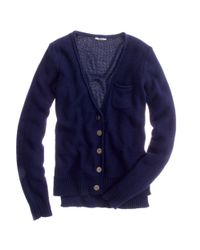 Madewell | Blue Topnote Cardigan | Lyst