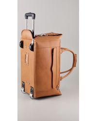 Rebecca Minkoff - Brown Wheelie Travel Bag - Lyst