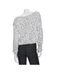 A.L.C. | White Preorder Lara Marble Sweater | Lyst