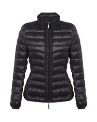 Moncler | Black Irenee Quilted Jacket | Lyst
