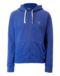 Polo Ralph Lauren - Lauren Blue Seasonal Fleece Hoodie Jacket for Men - Lyst