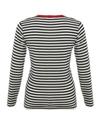Sonia by Sonia Rykiel | Black Breton Striped Top | Lyst