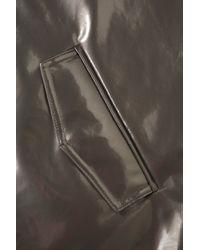 TOPSHOP - Metallic Plastic Mac - Lyst