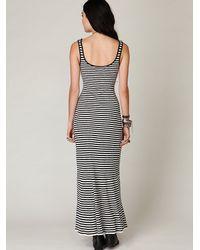 Free People | Black Hayward Maxi Tank Dress | Lyst
