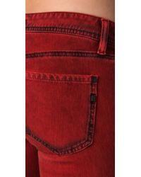 Genetic Denim - Red The Shane Cigarette Legging Jeans - Lyst