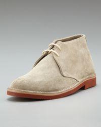 Brunello Cucinelli   Natural Brick-sole Suede Chukka for Men   Lyst
