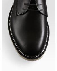 Gucci - Black Leather Lace-ups for Men - Lyst