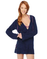 Splendid | Blue Signature Terry Cover Up | Lyst