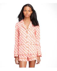 Tory Burch | Red Mireille Pyjama Set | Lyst