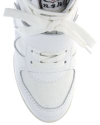 Ash   White Bowie Wedge Trainers   Lyst