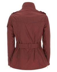 Barbour - Brown Burgundy Summer Wax International Jacket - Lyst