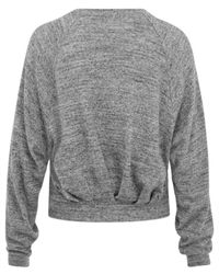Étoile Isabel Marant - Gray Grey Dory Mixed Yarn Jumper - Lyst