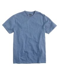 J.Crew | Blue Wallace & Barnes 16/20s Heavyweight Tee for Men | Lyst