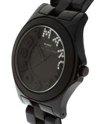 Marc By Marc Jacobs - Black Bracelet Watch - Lyst