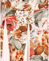 MINKPINK   Multicolor Minkpink Four Seasons Contrast Godet Dress   Lyst