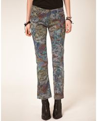 One Teaspoon - Multicolor Heros And Villains Printed Skinny Jeans - Lyst