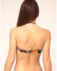Seafolly | Multicolor Savannah Print U Bandeau Bikini Top | Lyst