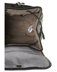 TOPSHOP - Black Grey Jersey Backpack - Lyst