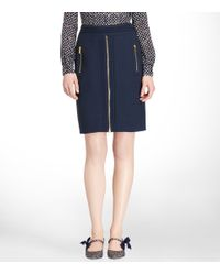 Tory Burch | Blue Rosalyn Skirt | Lyst
