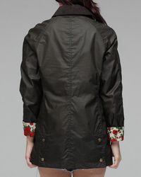 Barbour | Green Roses Liberty | Lyst