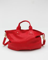 Clare V. | Messenger in Red | Lyst