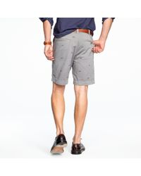 J.Crew | Gray Stanton Bicycle Short for Men | Lyst