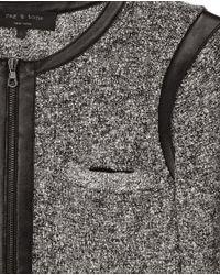 Rag & Bone - Gray Hart Jacket - Lyst