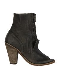 AllSaints | Black Aster Boot | Lyst