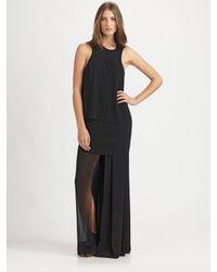Acne Studios - Black Barika Long Dress - Lyst