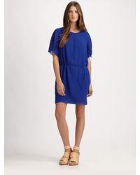Acne Studios - Blue Moreau Crepe Dress - Lyst