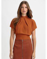 Acne Studios | Brown Harlow Rustic Skirt | Lyst