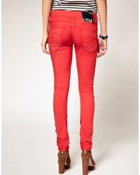 G-Star RAW | Arc Coloured Skinny Jeans | Lyst