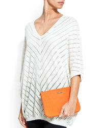Mango | Orange Touch - Quilted Vanity Case | Lyst