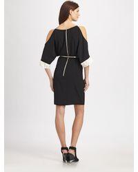 Sachin & Babi | Black Gia Opensleeve Dress with Belt | Lyst