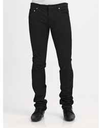 Dior Homme - Black Slim Straight-Leg Jean for Men - Lyst