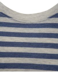 Folk - Blue Navy and Marl Grey Stripe T-shirt for Men - Lyst