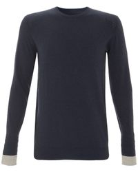 Folk | Blue Navy Long Sleeve Undergram for Men | Lyst