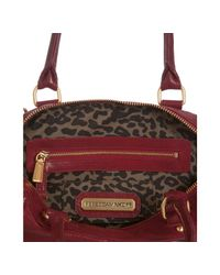 Rebecca Minkoff - Blood Red Leather Mab Mini Convertible Satchel - Lyst